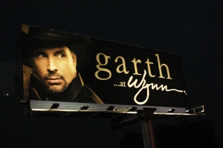 Garth Brooks Vegas Billboard